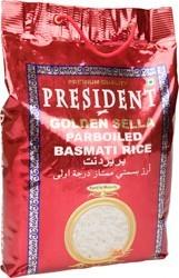 Rice Basmati Parboiled President - Poly Bag 5 kg