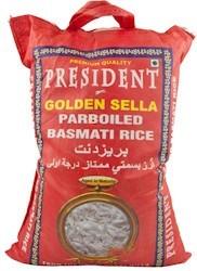 Rice Basmati Parboiled President 10 kg.