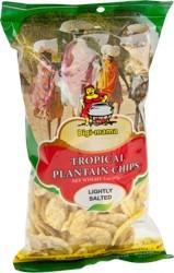 Tropical Plantain Chips Bigi Mama Salt 85gr