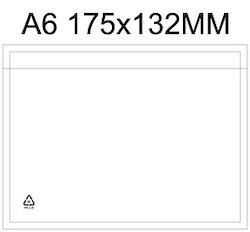 Packsedelsfickor A6 med & utan text.