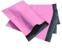 Rosa postorderpåsar mailingbags i 8 storlekar! Från 25 öre påsen!