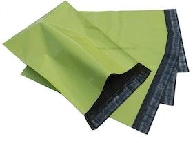 Gröna postorderpåsar mailingbags i 5 storlekar! Från 25 öre påsen!