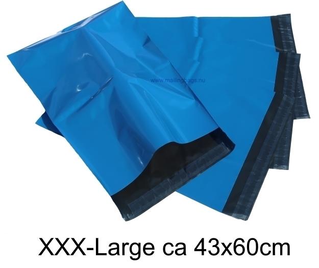 Blåa postorderpåsar i 8 storlekar! Från 25 öre påsen!