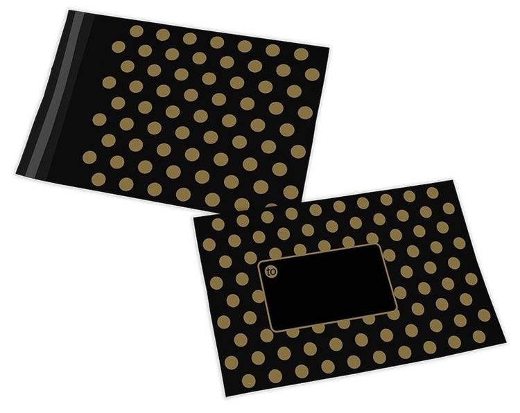 Polka Dot postorderpåsar mailingbags i 4 storlekar! Från 35 öre påsen!