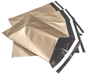 Guld postorderpåsar mailingbags i 7 storlekar! Från 18 öre påsen!