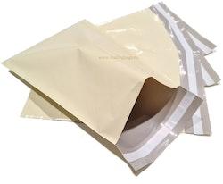 Cream postorderpåsar mailingbags i 5 storlekar! Från 35 öre påsen!