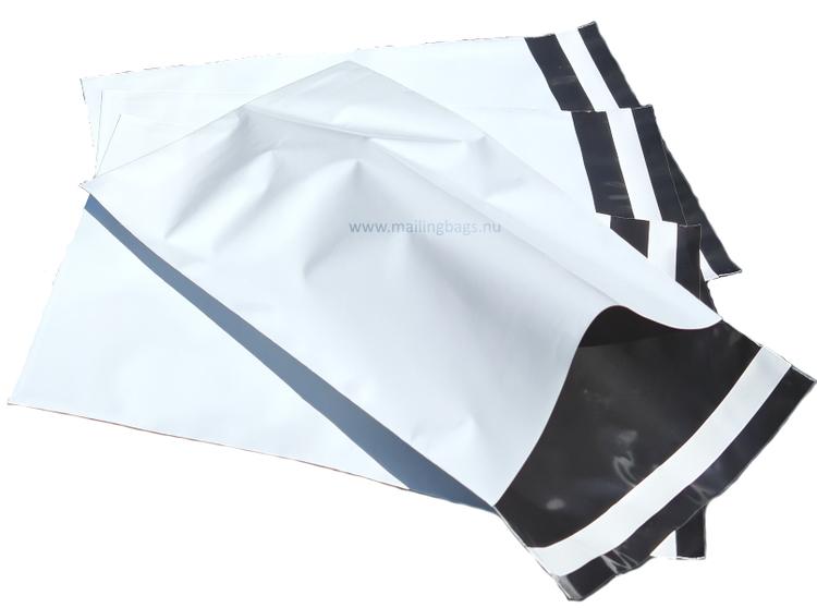 Vita postorderpåsar mailingbags i 10 storlekar! Från 25 öre påsen!