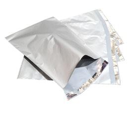 Silver postorderpåsar mailingbags i 8 storlekar! Från 25 öre påsen!