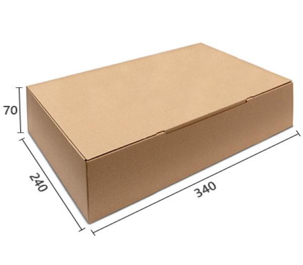 E-handelslåda 34x24x7cm perfekt även för varubrev