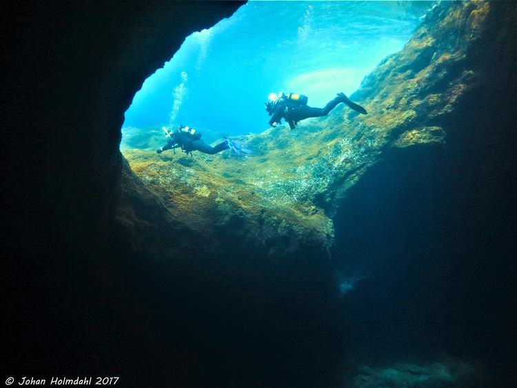 Cave Exit - El Hierro 2017
