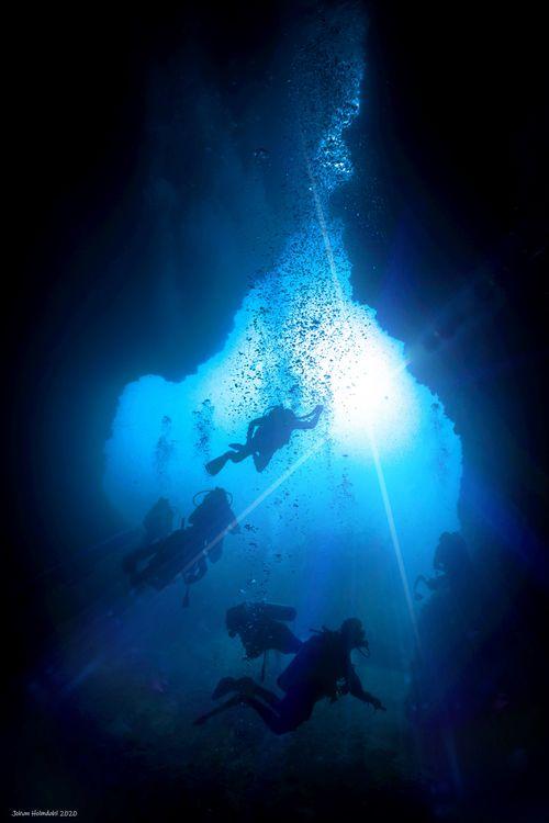 Dark Cave - Koh Haa 2020