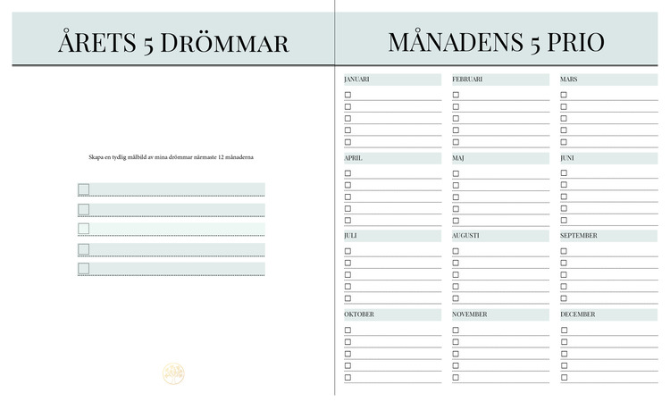Prio 5 Planner