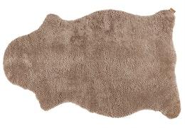 Kort Fårskinn Stone 100x60 cm