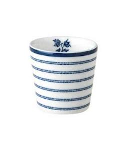 Laura Ashley Egg cup Candy Stripe