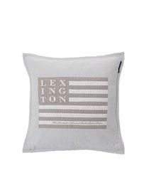 Lexington Kuddfodral Logo Art&Craft Grey/White