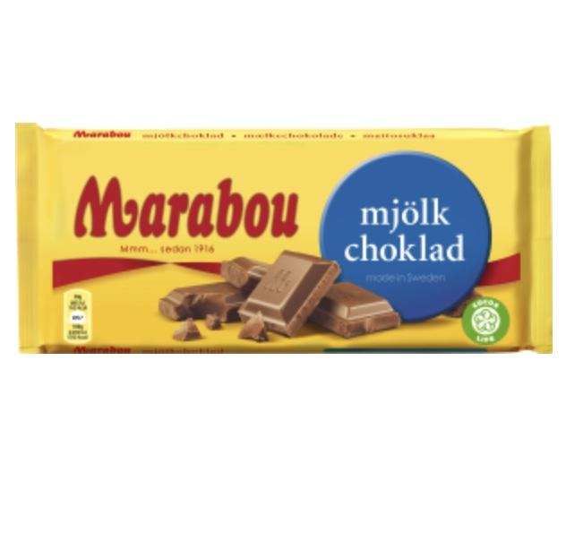 Marabou mjölkchoklad 200 gram