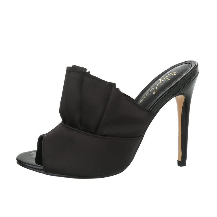 Svarta, Glam volang heels by  Sergio Todzi