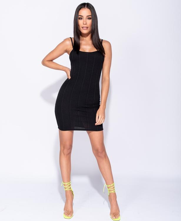 Belinda bodycon dress, svart