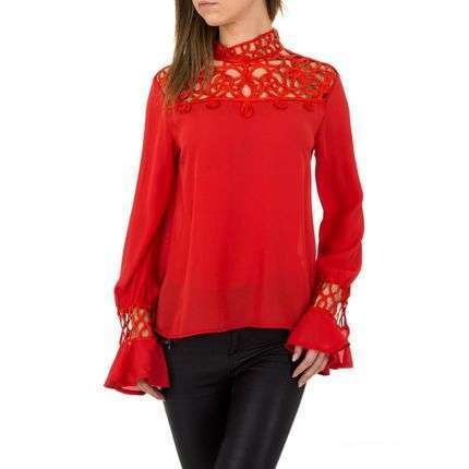 Angelica red blouse