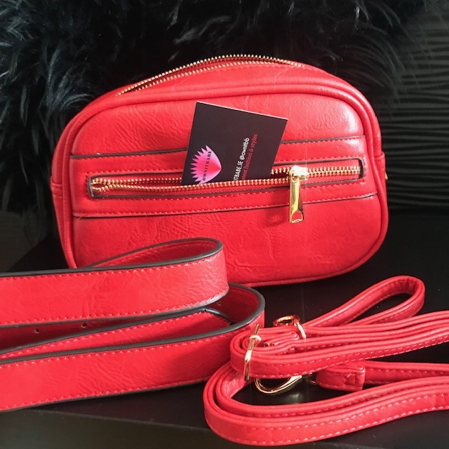 Red duo bumbag