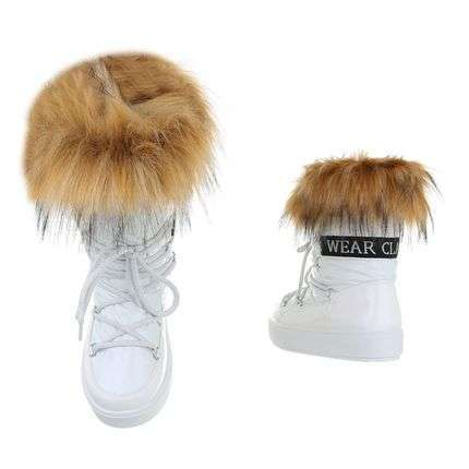 Faux fur snowjoggings