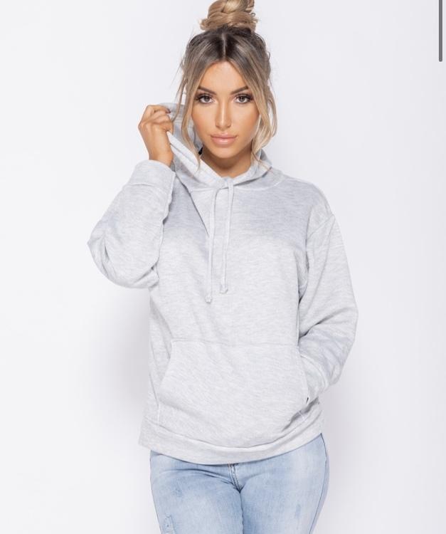Fresh grey hoodie