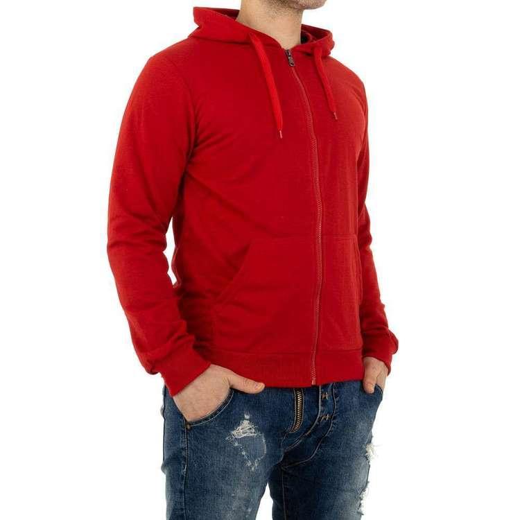 MAN red hoodie