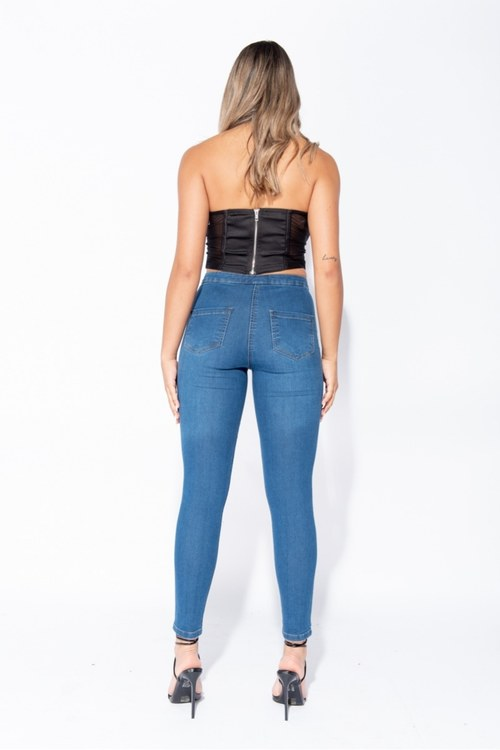 Kelly midblue jeans