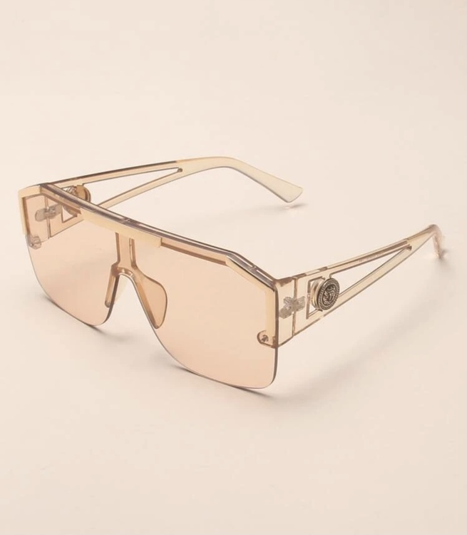 MALAGA sunglasses gold on gold