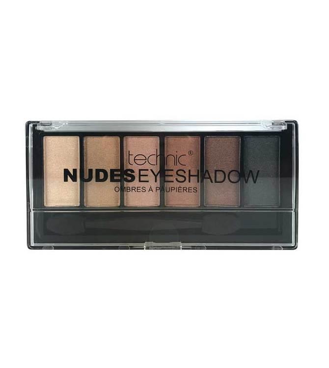 Nudes technic eyshadow set
