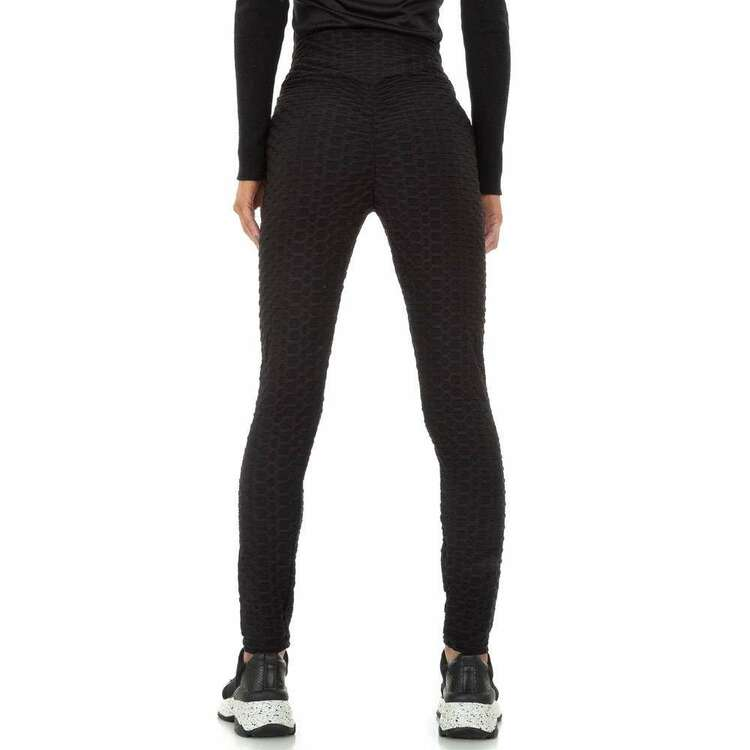 Scrunch butt fitness tights with structure