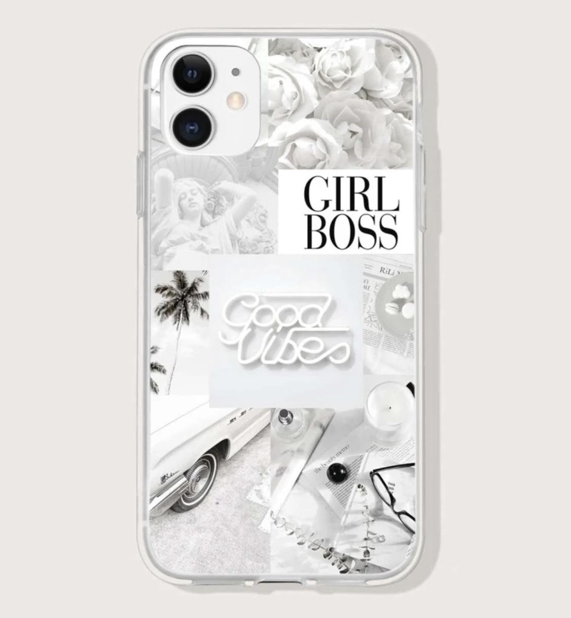 Mobilskal GIRLBOSS för Iphone
