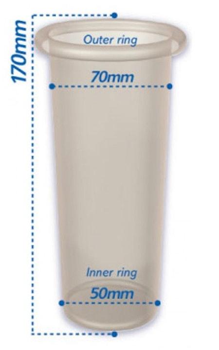 Pasante Female Condom 3-pack