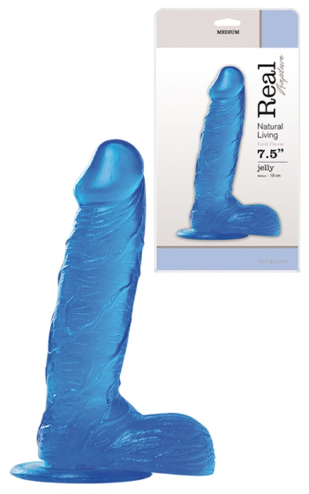 Real Rapture Blue Dildo 7,5 tum
