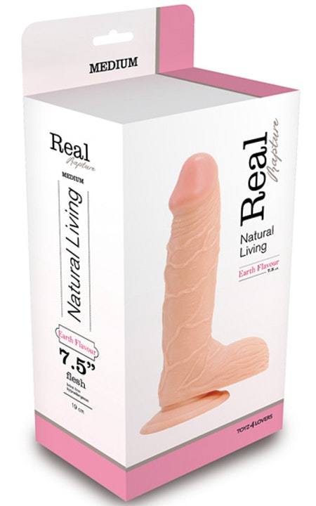 Real Rapture Dong 7,5 tum - Natur