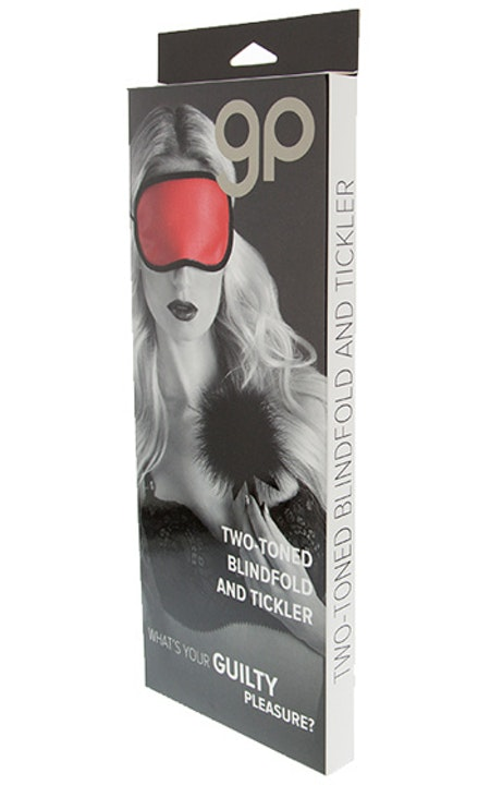 Velvet Soft Eye Mask & Tickler