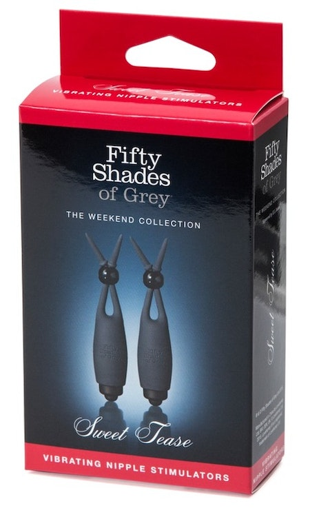 Fifty Shades  Vibrating Nipple Clamps