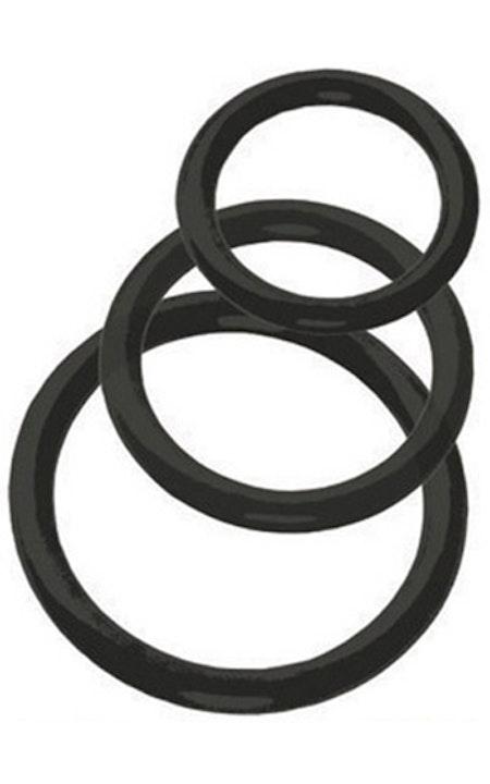 Tri-Rings Black