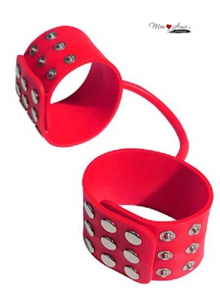 Maf Silicone Cuffs - Röd