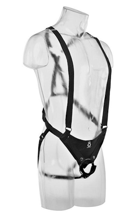 Hollow Strap-On Suspender System 12 tum