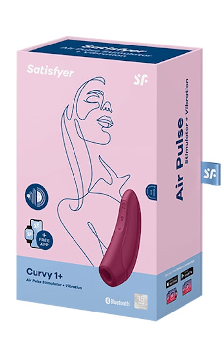 Satisfyer - Curvy 1+ Rose Red