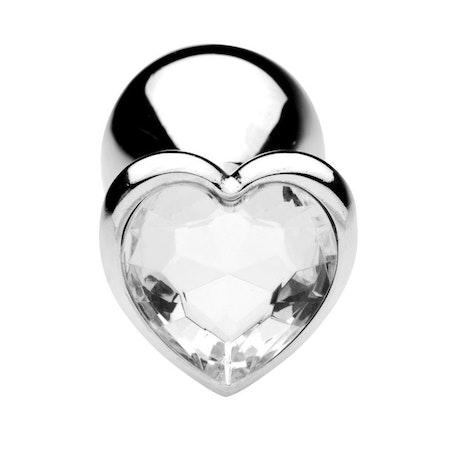 Heart Diamond Plug Small