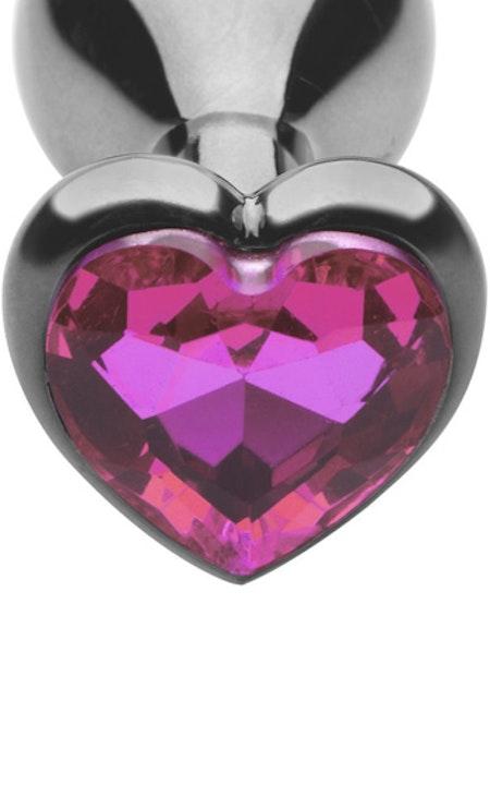 Heart Diamond Plug Medium