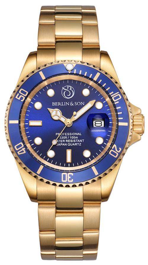 Professional Diver 40mm Gold / Blue
