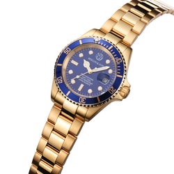 Professional Diver 40mm Gold / Blue