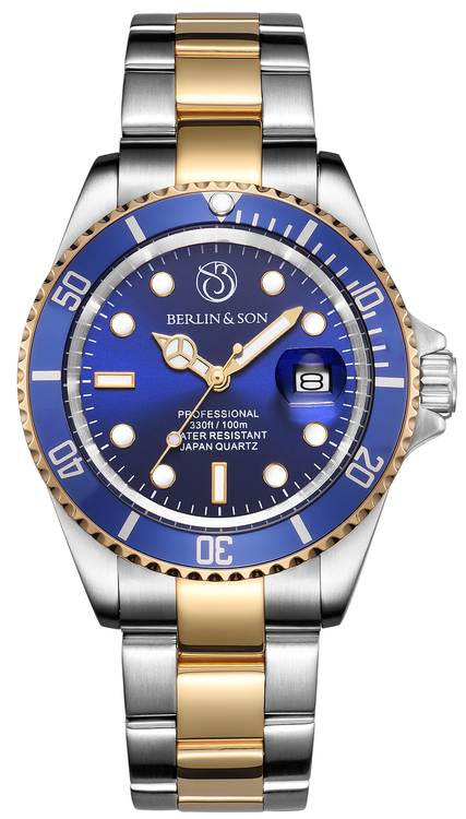 Professional Diver 40mm Two-Tone Blue