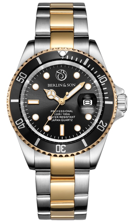 Professional Diver 40mm Two-Tone Black