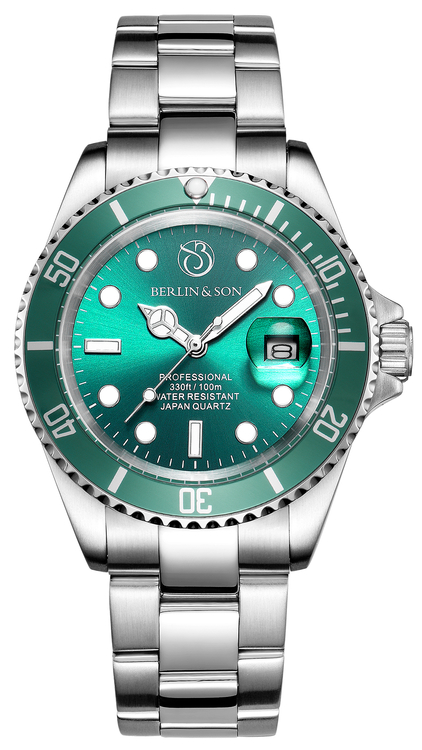 Professional Diver 40mm Green