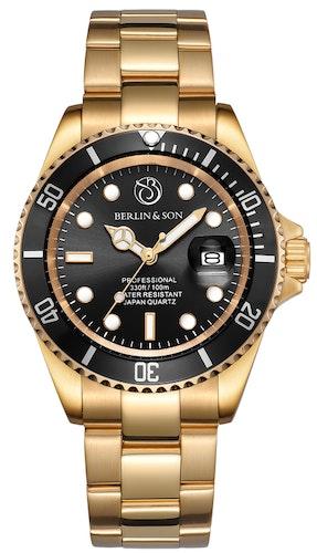 Professional Diver 40mm Gold / Black