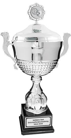 Pokal Toscana med lock